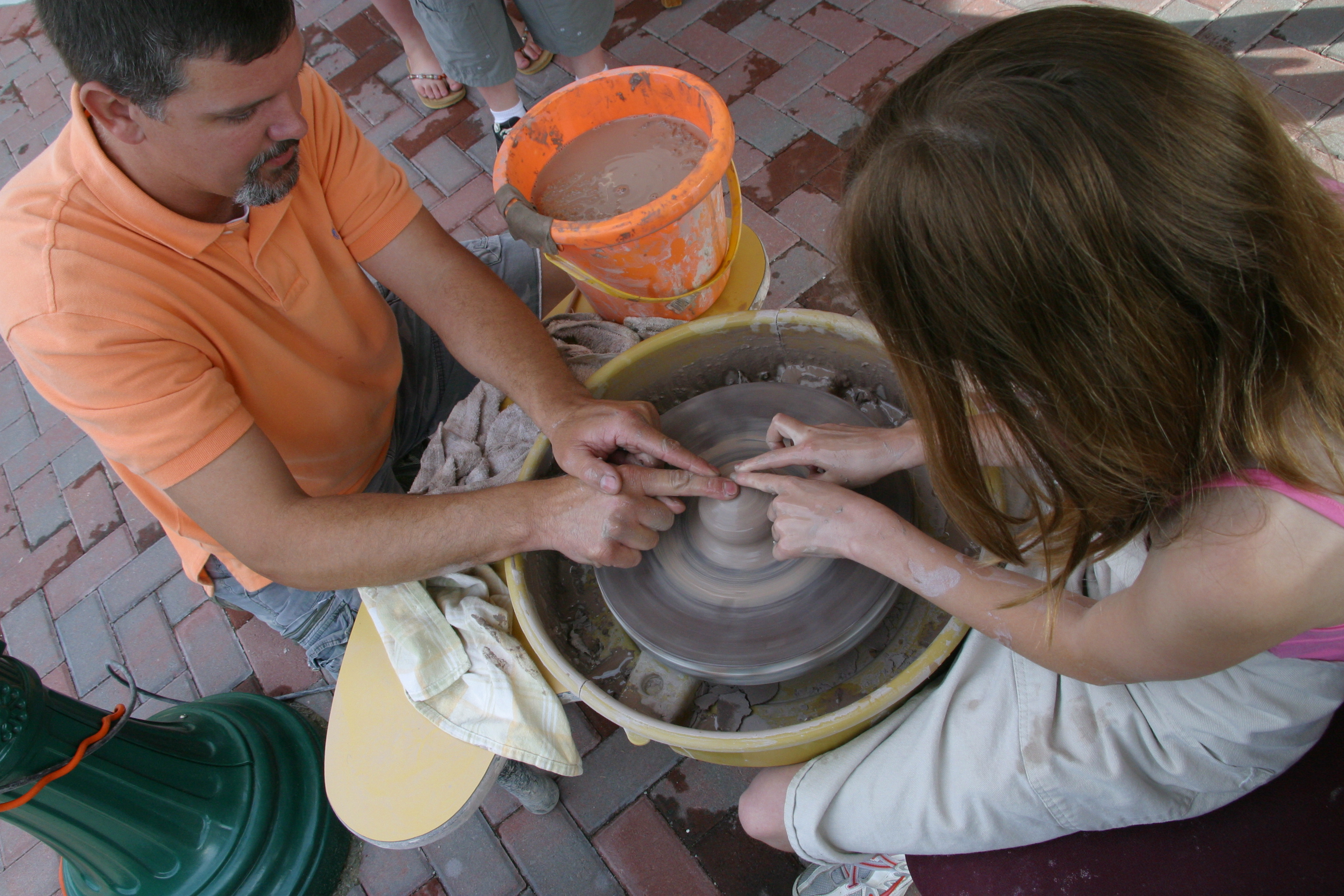 Wheel Throwing Pottery Classes